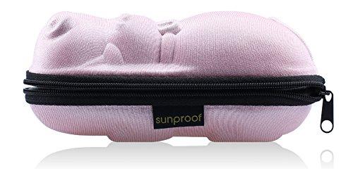 Sunproof Etui A Lunettes Boite De Protection Plage Transportable - Rose Hippo