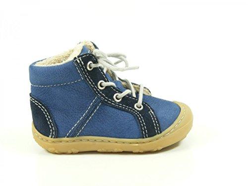 Ricosta George Unisex-Kinder Oxford Schnürhalbschuhe kobalt/nautic