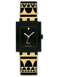 Swatch Damen Armbanduhr Gold-Lux SUBB123G