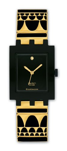 swatch-ladies-gold-lux-black-dial-bracelet-watch
