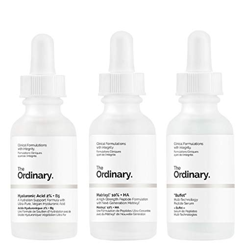 'The Ordinary' Anti-Ageing Set 3Pieces,your skincare secret weapon