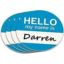 Darren Hello my name is Posavasos Set