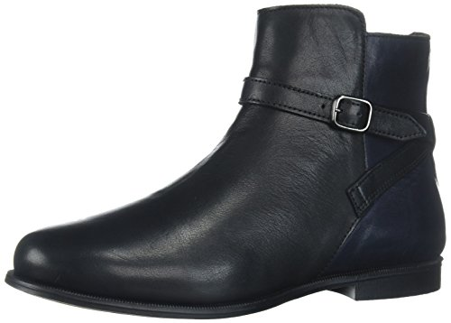 Sebago Plaza Ankle Boot, Stivali Chelsea Donna Multicolore (Black/navy Leather)