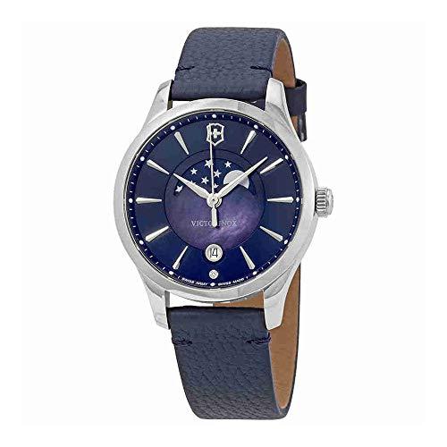 Victorinox Reloj Analogico para Mujer de Cuarzo con Correa en Cuero 241794 5d318eb7b6d7