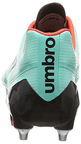 Umbro Velocita 2 Pro Sg Herren Fußballschuhe Green (Marine/Black/White/Fiery Coral)