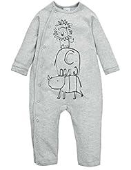 CuteOn Bebé Onesies de Manga larga Body - Cuello Redondo - 100% Algodón Suave Acogedor - Tamaño De Bebé temprano a 2 Años