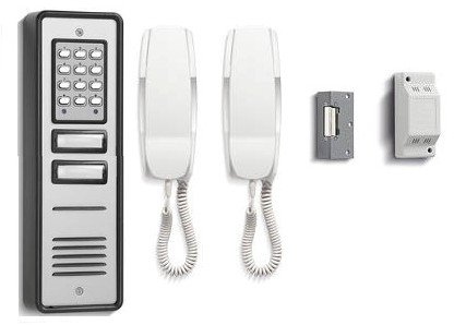TC278- BELL BL106-2 2WAY BELLINI COMBINED AUDIO DOOR ENTRY INTERCOM SYSTEM WITH CODED KEYPAD ACCESS & LOCK RELEASE