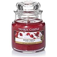 Yankee Candle 1342527E Bougie Senteur Berry Trèfle en Jarre Rouge