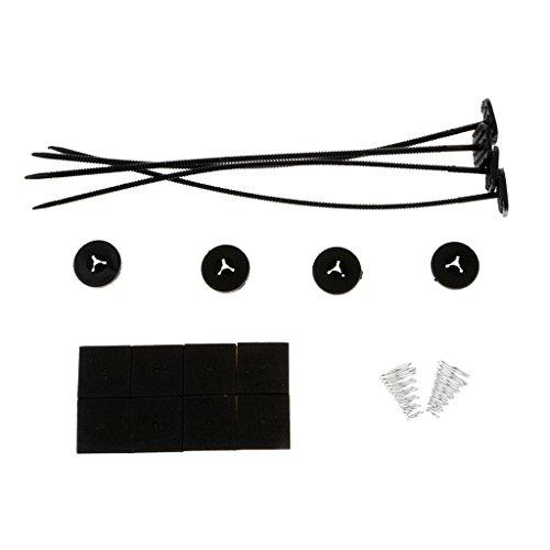 MagiDeal 1 Set Elektrische Kühler Lüfter Montage Kit Kabelbinder Pads Für Alle Fahrzeuge -