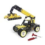 Dilwe Modello di Escavatore Fai-Da-Te, Escavatore Modello di Puzzle Giocattoli da Costruzione per Bambini