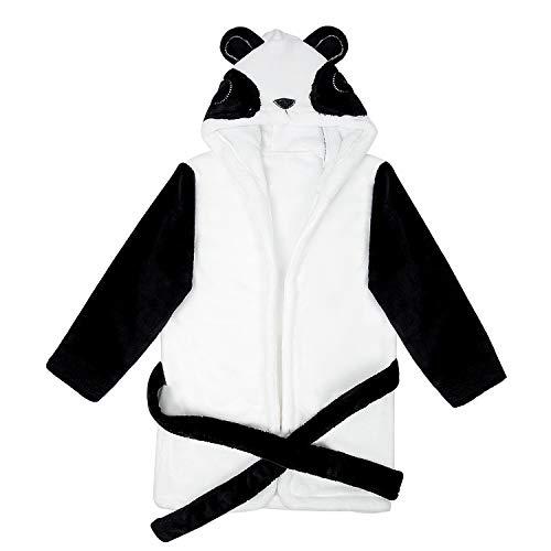 Remebe Albornoces Bebe, Bata de Baño Bebe Forma Panda Linda, Albornoz Suave de Algodón, Albornoces...