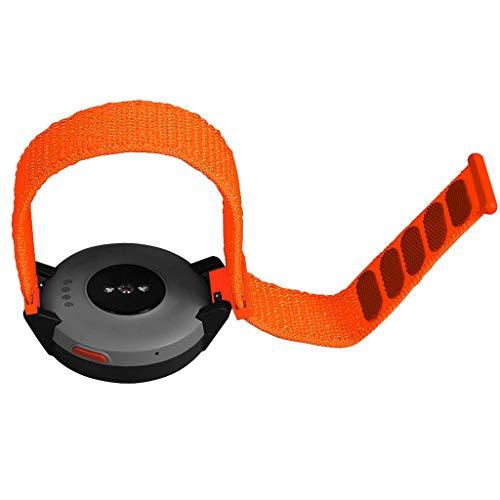 uhrenarmbänder -Ersatz-Nylon-Sportschlaufe-Handgelenkband für Huami Amazfit Verge Watch,Replacement Nylon Sport Loop Wrist Band Strap for Huami Amazfit Verge Watch (D)