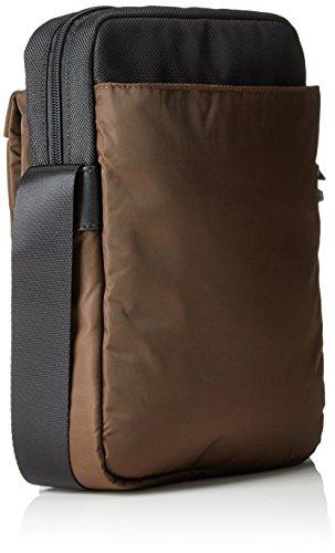Samsonite Openroad Borsa Messenger, 29 cm, 4.5 litri, Jet Black Chestnut Brown