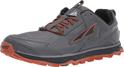 Altra Lone Peak 4.5 Mens-UK 10-Gray/Orange