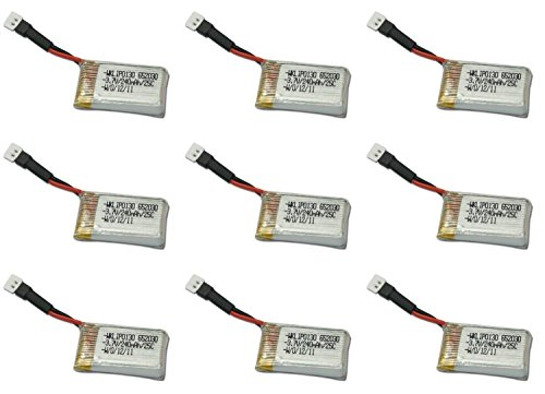 9-x-quantity-of-estes-dart-37v-240mah-lipo-battery-rechargeable-power-pack