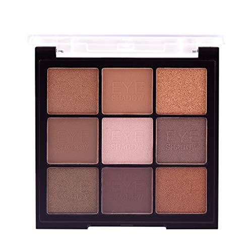 Preisvergleich Produktbild Women Best Gift! Beisoug MISS ROSE 9color Perle Licht Matt Lidschatten Scheibe Bling Bling Lidschatten Make-up