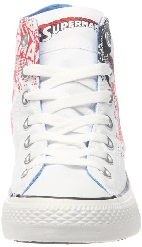 Converse AS CT DC Superman Hi White Red Weiß (Blanc/bleu/rouge)