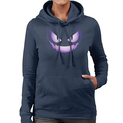 Cloud City 7 Gengar Fire Face Women's Hooded Sweatshirt