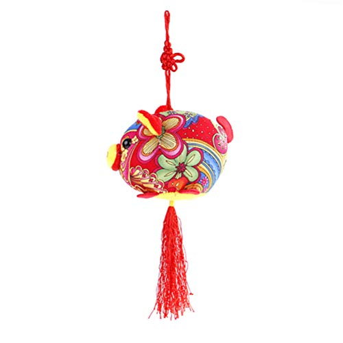 Car Pendants Pig Year Ornaments For Car Interior Accessories Company Promotional Gifts Bright Luster Ornaments