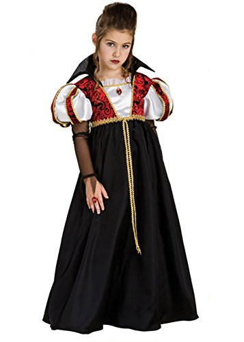Kind Kostüm Royal Vampir - Rubie's Kinder Royal Vampira Gothic Vampir Kostüm Small 3-4 Years
