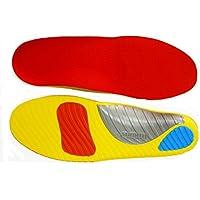FitMad® Sports Einlegesohle - Erweiterte Orthesen Arch & Heel Support - Stoßdämpfung Einlegesohlen Ganzkörperansicht... preisvergleich bei billige-tabletten.eu