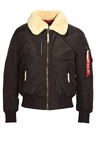 Alpha Industries - Injector III Fliegerjacke (S, vintage brown) (Interior Zip Pocket)