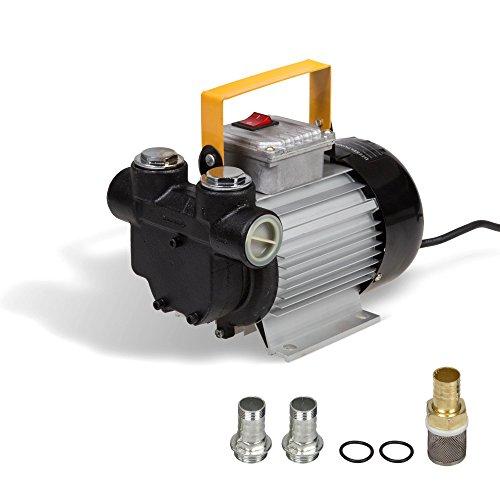 Pompe a Fuel 550 W 230 V Pompe gasoil 70 l/min Station gasoil autoaspirante