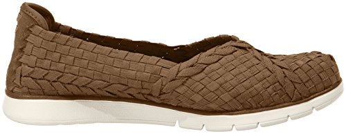 Skechers Prima Ballet femmes, toile, sneaker low Taupe