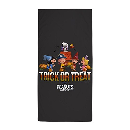 – Peanuts Snoopy The Peanuts Film – Trick or Treat Strand Handtuch – Weiß (Adult Pirate Film)