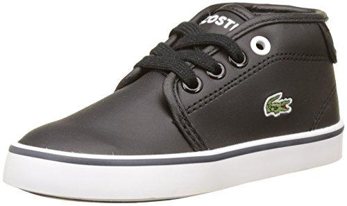 Wht Blk Herren Sneakers (Lacoste Unisex Baby Ampthill 117 2 Trainer, Schwarz (Blk/Wht), 27 EU)