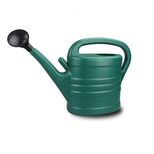 Wddwarmhome L'arrosage en plastique vert foncé de ménage de bouilloire d'arrosage de pp peut le pot d'arrosage de jardinage de bouche longue ( taille : 8 L )