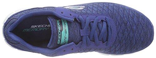 Skechers - Flex Appealeye Catcher, Scarpe da ginnastica Donna Blu (Blu (Navy))
