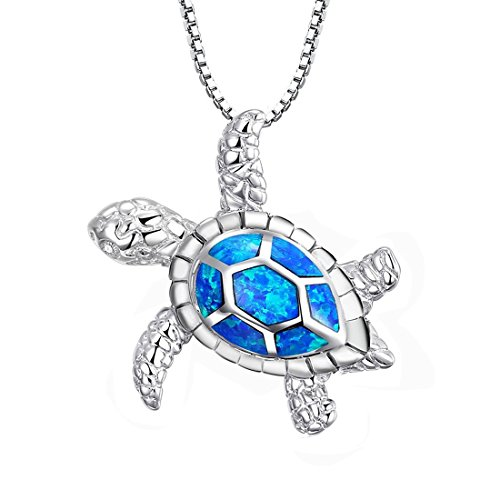 womens-gifts-tonver-925-sterling-silver-blue-opal-turtle-pendant-necklace-valentines-gifts-for-women