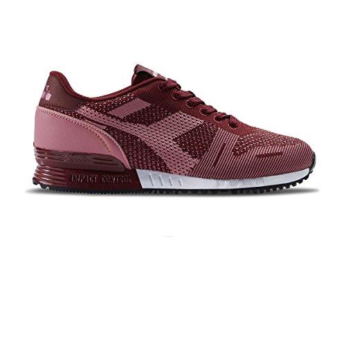 Diadora Chaussures Titan Weave W Cordovan h17 Rouge