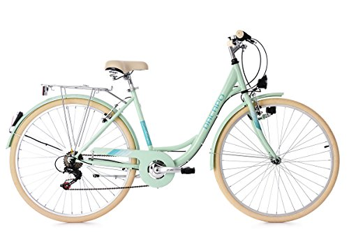 KS Cycling Damen Cantaloupe Fahrrad, Mint, 28
