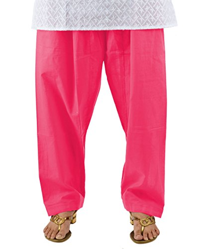 NEHA FASHION [Neha Fashion] Women's Cotton Patiala Salwar(SPSPPMX3_Pink_Free Size)