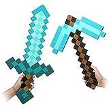 Épée Minecraft Diamant Bleu & Pioche Jouet/Enfant