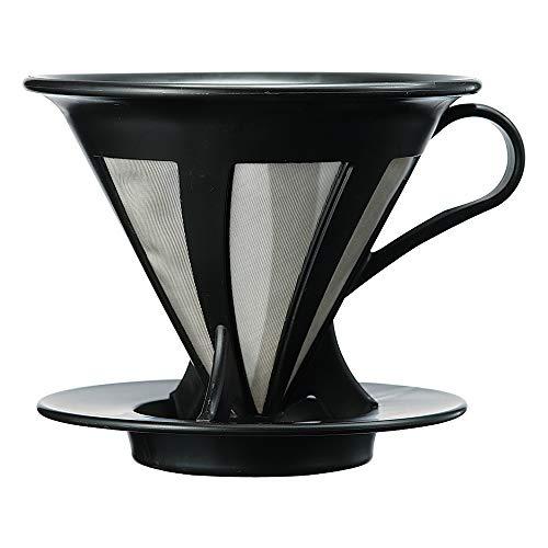 Hario CFOD-02B - Filtros para cafeteras de vacío, de plástico, color rojo
