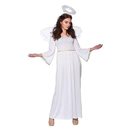 (P) Plus Größe Damen Engel Kostüm für Weihnachten Krippe Fancy Kleid Festive Outfit