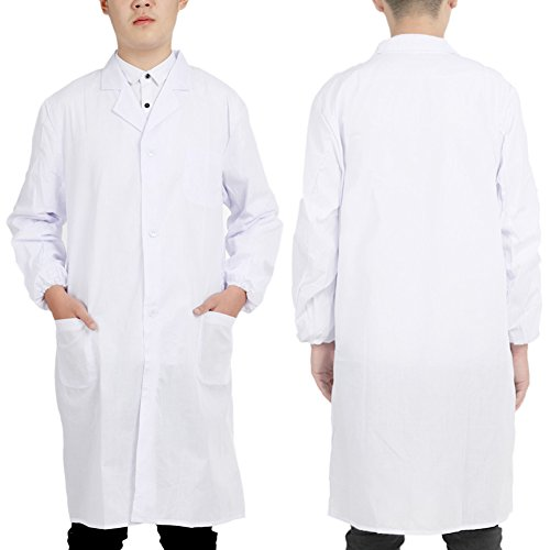 Tree In Art New Labor Medical weiß Kantinen Doctor Long Sleeve Kleidung dünn - Tree Coat