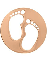 MY iMenso pies portada insignia plata adrina 24 mm 24-0725