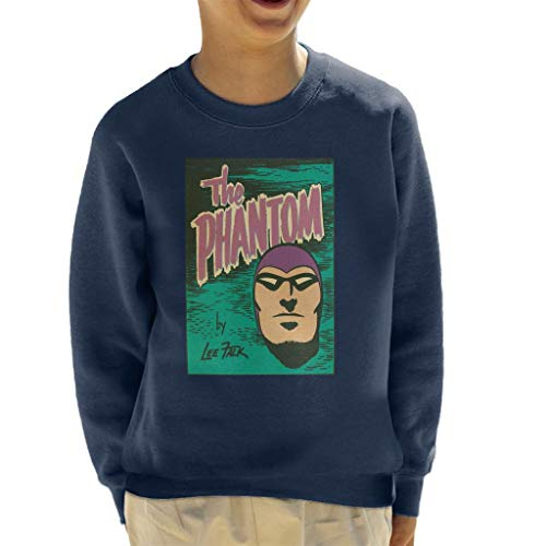 Comics Kingdom The Phantom Face Logo Kid's Sweatshirt Face Kids Sweatshirt