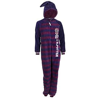 harry potter ganzk rper schlafanzug schlafoverall onesie hausanzug einteiler 32 34 uk 6. Black Bedroom Furniture Sets. Home Design Ideas