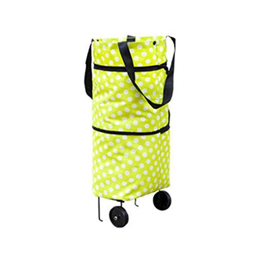 Heaviesk Shopping Trolley Wheel Bag Gran Capacidad