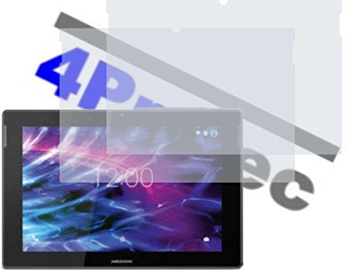 4ProTec 2X Hartbeschichtete Displayschutzfolie antireflex für Medion Lifetab S10366 S10333 S10334 S10345 S10346 MD 98992 99042 98811 98828