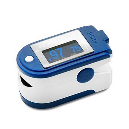 CMS 50D Blue Finger Pulse Oximeter With Usb And Sofware