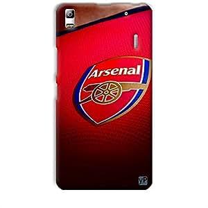 yP Arsenal Football Club Design Hard Back Case Cover for Lenovo K3 Note