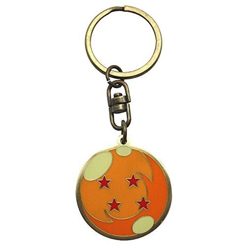 Dragonball Z - Metall Schlüsselanhänger - Logo