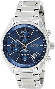 Hugo Boss Mens Quartz Watch, Analog Display and Stainless Steel Strap 1513478