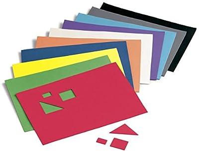Faibo 218768–Confezione di 10fogli di gomma Eva, 20x 30cm, Multicolore by Faibo